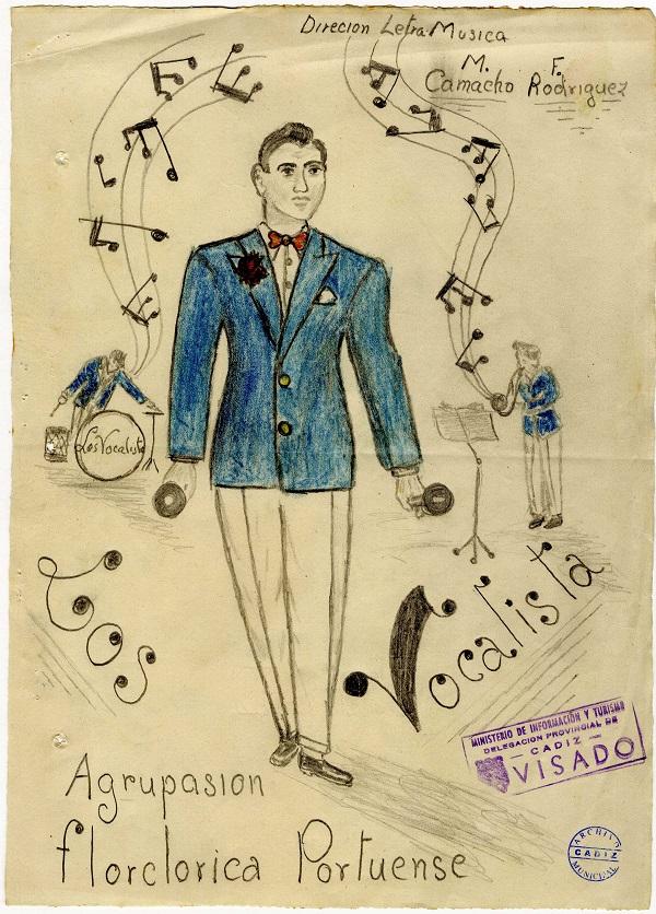 Boceto de Los Vocalistas