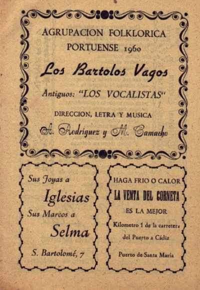 Los Bartolos Vagos - Cancionero