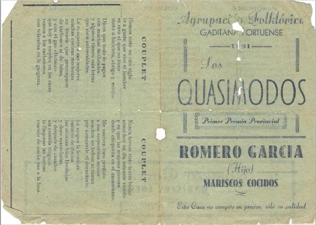 Los Quasimodos - Portada y Contraportada