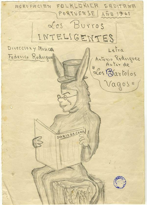Los Burros Inteligentes - Boceto