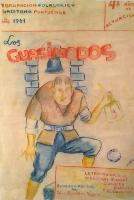 Los Quasimodos - Boceto
