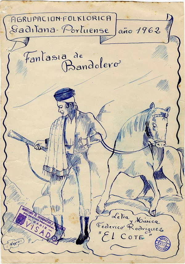 Fantasía de Bandoleros - Boceto
