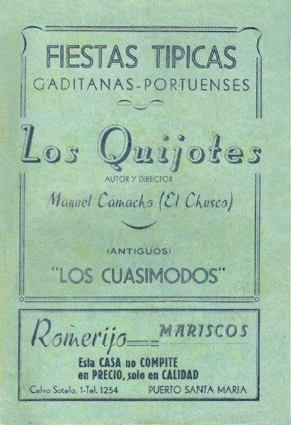Los Quijotes - Cancionero