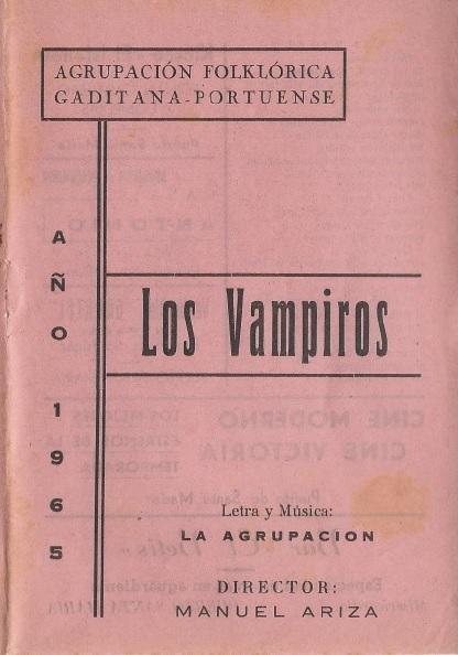 Los Vampiros - Cancionero