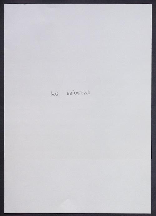 Los Sénecas - Carpeta de Inscripción