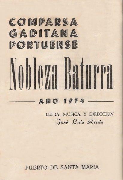 Nobleza Baturra - Cancionero