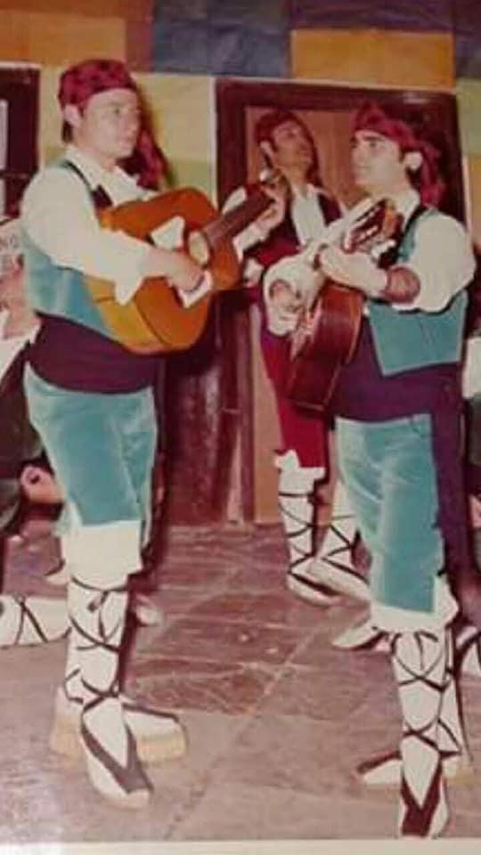 """José Luis Arniz Muñoz - Manuel Albaiceta Revuelta y José Ant. Rico Segura """"Pedro""""."""