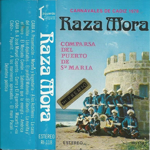 Raza Mora - Carátula