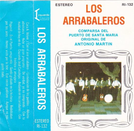 Los Arrabaleros - Portada de Cassette