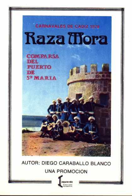 Cancionero - Raza Mora