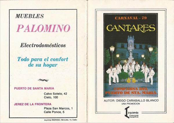 1979.- Cantares - Cancionero
