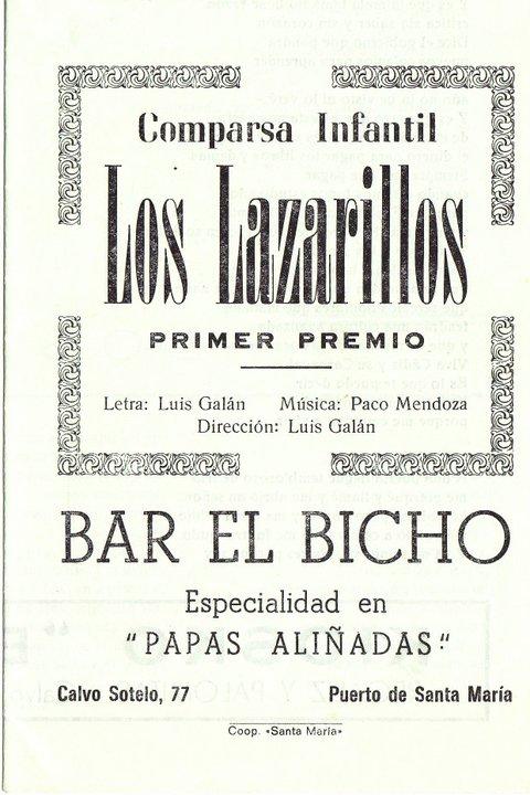 Los Lazarillos - Cancionero