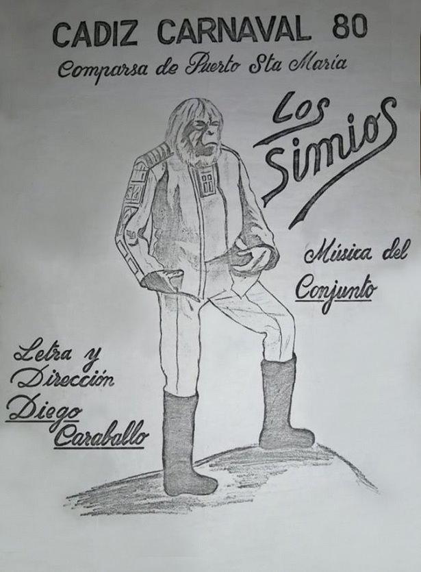 Boceto de Los Simios