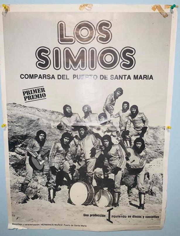 Los Simios - Cartel Original