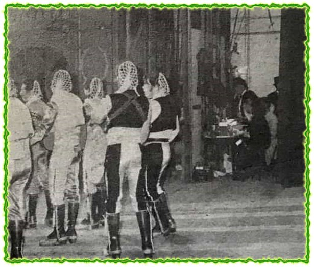 1981.- Mi Ribera del Río - Actuando en el Gran Teatro Falla