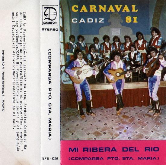 Mi Ribera del Río - Carátula Cassette