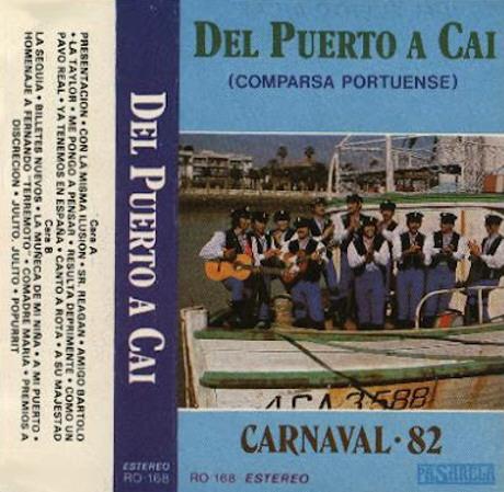 Del Puerto a Cai - Carátula del Cassette