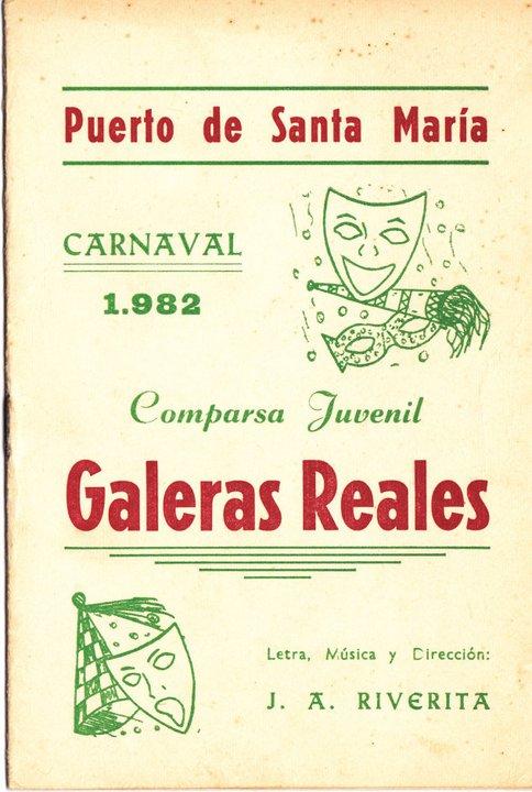 Galeras Reales - Cancionero