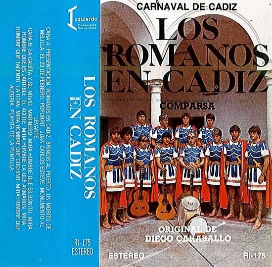 Los Romanos en Cádiz - Carátula Cassette