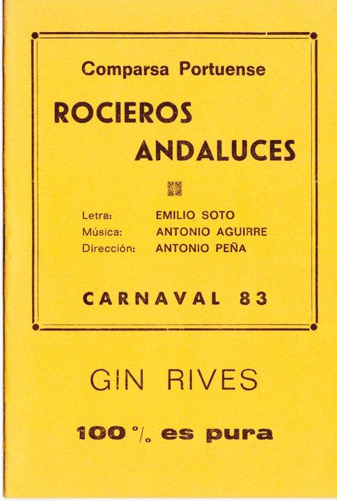Rocieros Andaluces - Cancionero