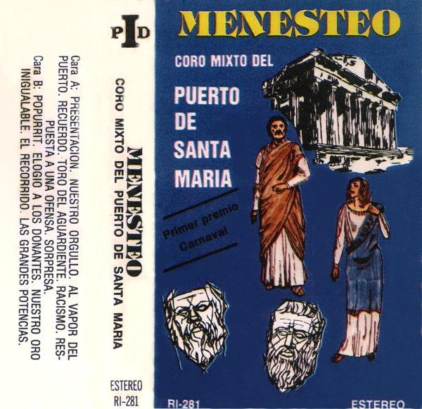 Menesteo - Portada Cassette