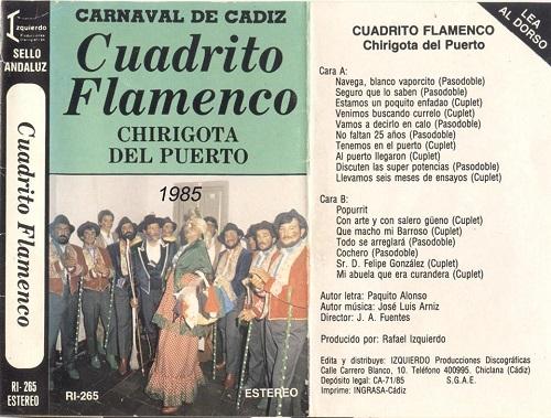 Cuadrito Flamenco - Carátula Cassette