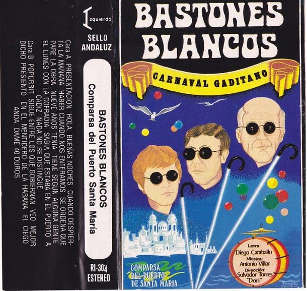 Bastones Blancos - Carátula