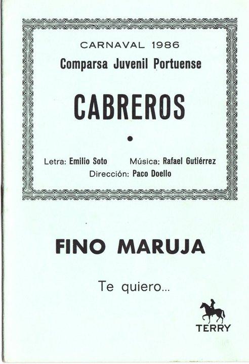 Cabreros - Cancionero