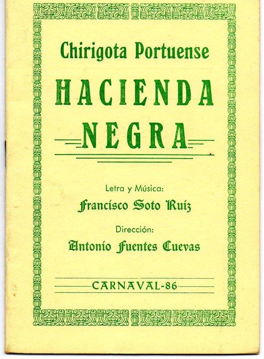 Hacienda Negra - Cancionero