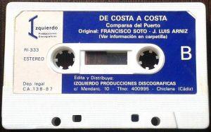 De Costa a Costa - Cassette Cara B