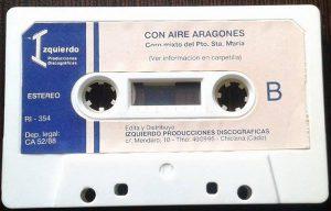 Con aire aragonés - Cassette B