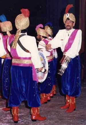Maharajash - Actuación en La Linea