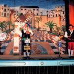 1989.- D. Quijote, Sancho Panza y un ventero de La Mancha