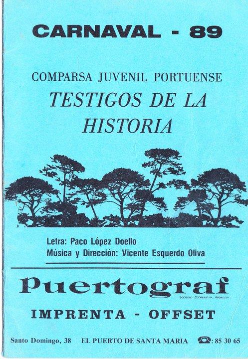 Testigos de la Historia - Cancionero