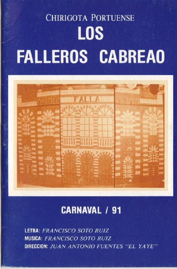 Los Falleros Cabreaos - Cancionero