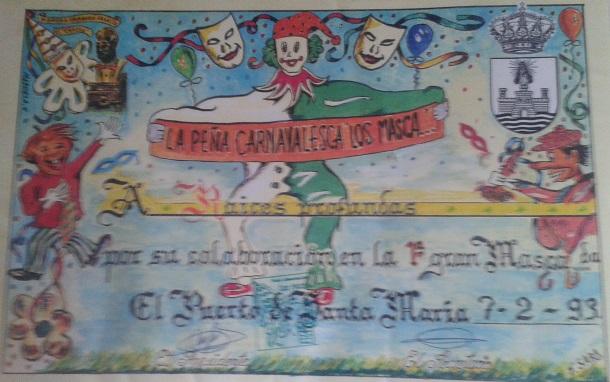 1993.- Raíces Profundas - Diploma Peña Los Masca