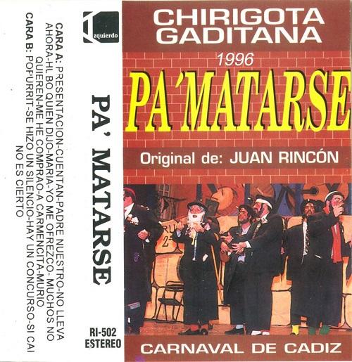 Pa Matarse - Carátula Cassette