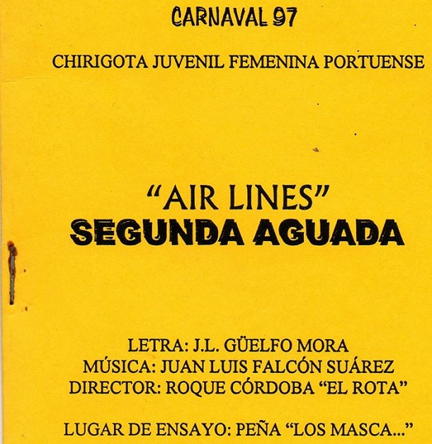 Air Line -Segunda Aguada - Cancionero