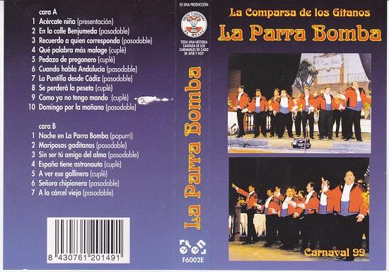 La Parra Bomba - Carátula