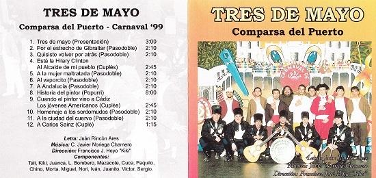 Tres de Mayo - Carátula del CD