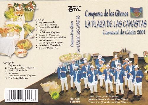La Plaza Las Canastas - Portada Cassette