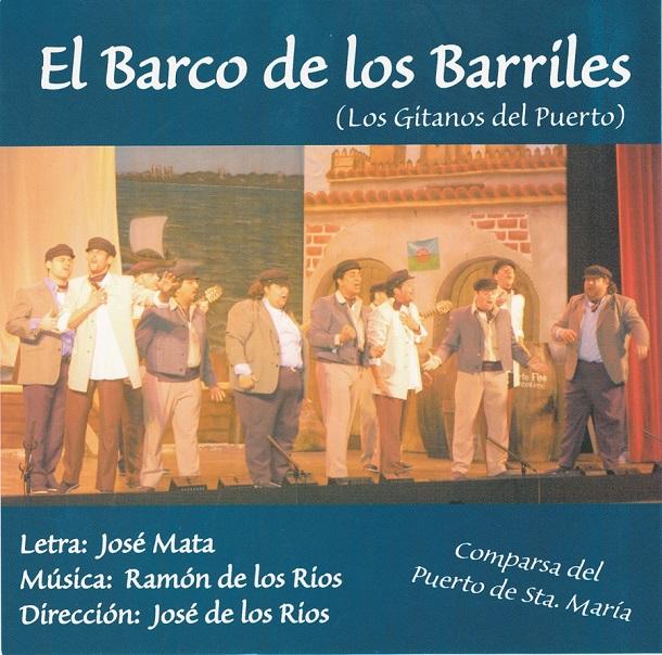 El Barco de los Barriles - Carátula CD