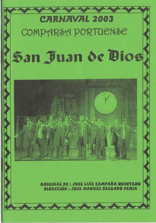 San Juan de Dios - Cancionero