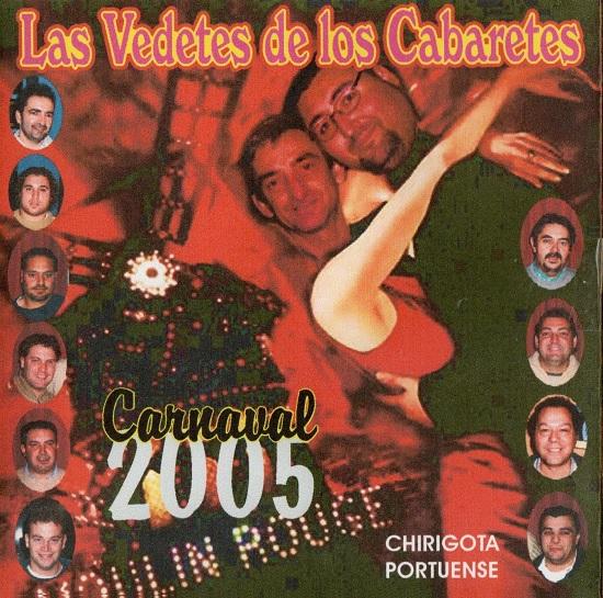 Las Vedettes de los Cabaretes - Portada CD