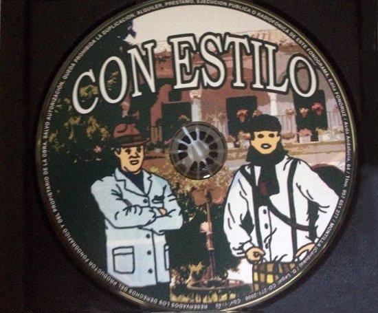Con Estilo - Disco CD