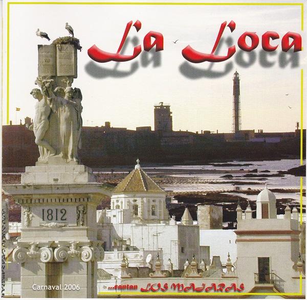 La Loca - Portada CD