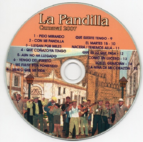La Pandilla 1939 - Disco CD