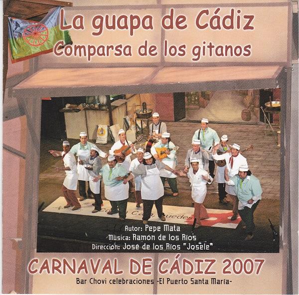 La Guapa de Cádiz - Portada CD
