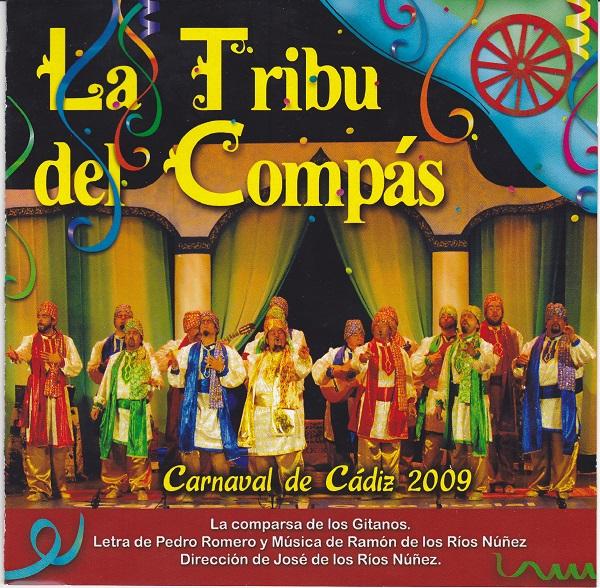 La Tribu del Compás - Portada del CD