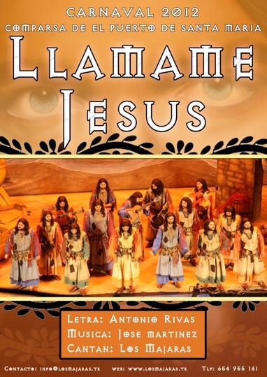 Llámame Jesús - Carátula